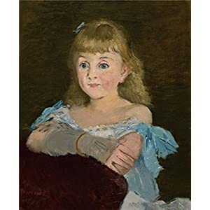 Oil Painting 'Edouard Manet,Portrait Of Lise Campineanu,1878' 18 x 22 inch / 46 x 56 cm , on High Definition HD canvas prints is for Gifts And Dining Room, Game Room And Home Office decor, reviews