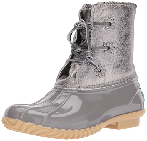 Rogers Rain Jack Chloe Boot Metallic Women's Dove Grey 4xnTndq