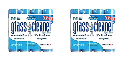 Sprayway, Sprayway Glass Cleaner, 19 oz Cans, Pack of 8