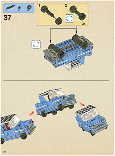 Instruction Manuals For Lego Harry Potter Set 4841 Hogwarts