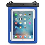Universal Waterproof Case, MoKo Dry Bag for Outdoor Activities, Fits iPad Pro 9.7, iPad Air / Air 2, iPad 2 / 3 / 4, Tab A 9.7 / Tab S2 9.7 / Tab E 9.6 and other tablets up to 10 inch, BLUE