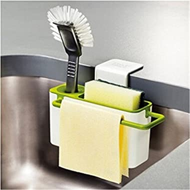 Moldiy Sink Caddy, Kitchen Soap and Sponge Holder