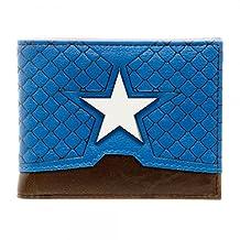 Captain America Suit Up Bi-Fold Wallet