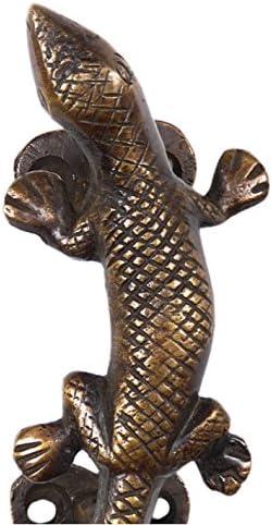 /12,7/cm Paar Messing Lizard T/ür Griffe Schrank zieht Bronze Antik Indian Decor Eyes of India Augen der Indien/