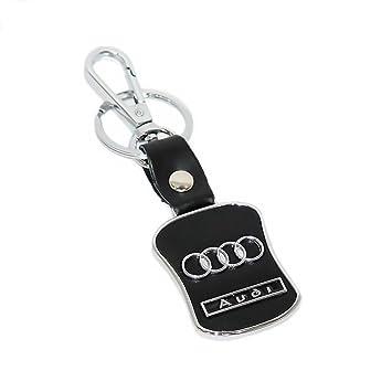 Niteo Audi Metal Keychain Audi Keychain For Car Audi Leather - Audi keychain