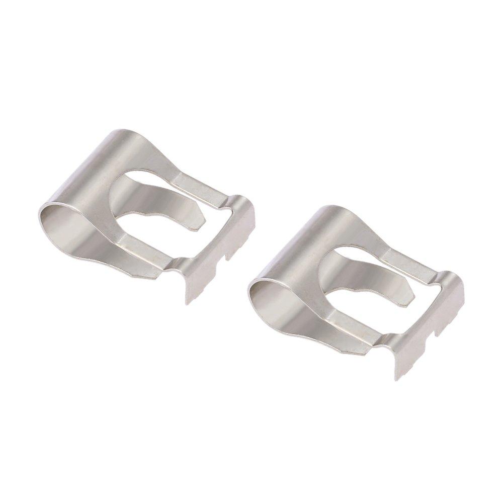 free shipping KKmoon Paire de Réparation Clip Bras de Tiges pour le Couplage Moteur Essuie-glace Link Kit Mécanisme