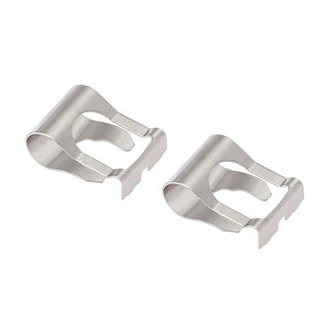 KKmoon Par de limpiaparabrisas motor vinculación Rods armas enlace mecanismo reparación clip Kit