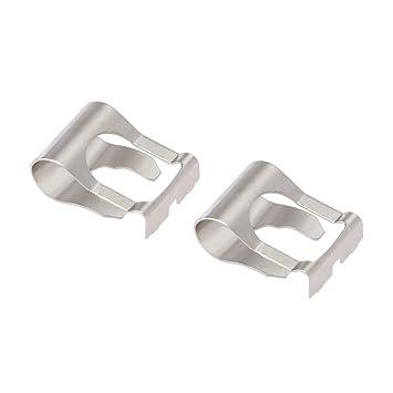 KKmoon Par de Clip Pinza de Acomplamiento de Limpiaparabrisas Motor Vinculación Kit de reparación: Amazon.es: Coche y moto