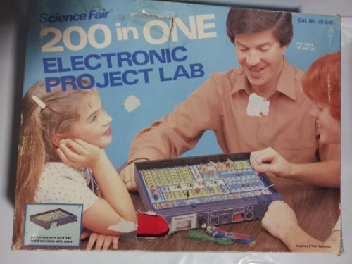 1 Electronic Project Lab (Science Fair 200 in ONE Electronic Project Lab)