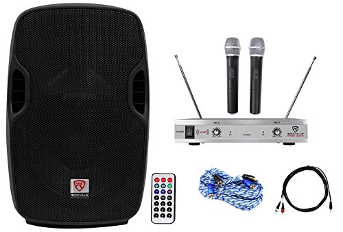 Rockville Powered 10'' Karaoke Pro Machine/System 4 ipad/iphone/Android/Laptop/TV by Rockville