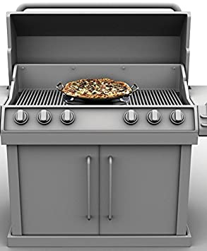 Eastman Outdoors BBQ Grill Pizza Pan