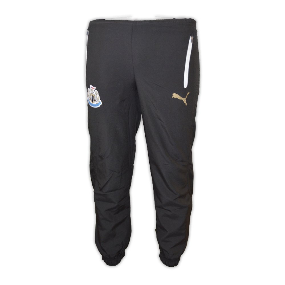 b69ef0ce4c21d 2016-2017 Newcastle Puma Leisure Pants (Black) - Kids: Amazon.co.uk ...