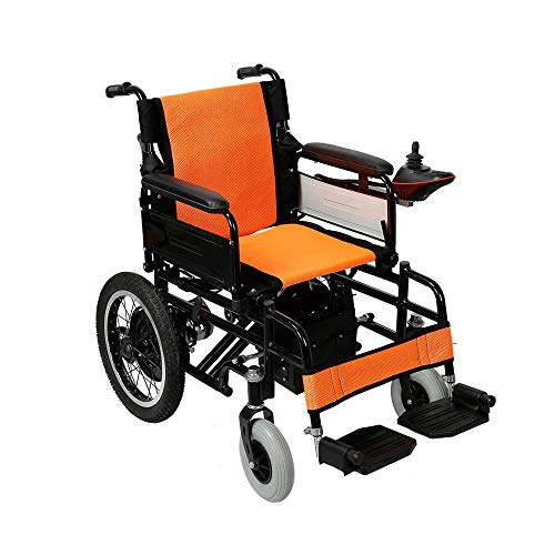 Amazon.com: ZJR silla de ruedas para discapacitados, silla ...
