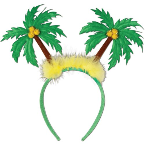 Palm Bent Tree - Palm Tree Boppers Party Accessory (1 count) (1/Pkg)