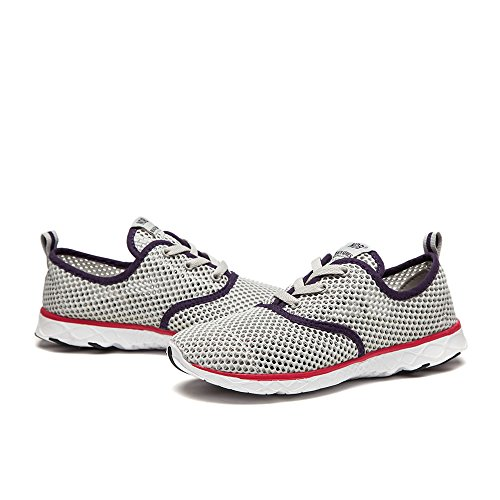 a531d3b3aef06d NDB Women's Mesh Lace-Up Quick Drying Aqua Water Shoes - Import It All