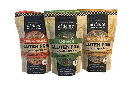 Al Dente Gluten Free Pasta Variety Pack, 3 Count