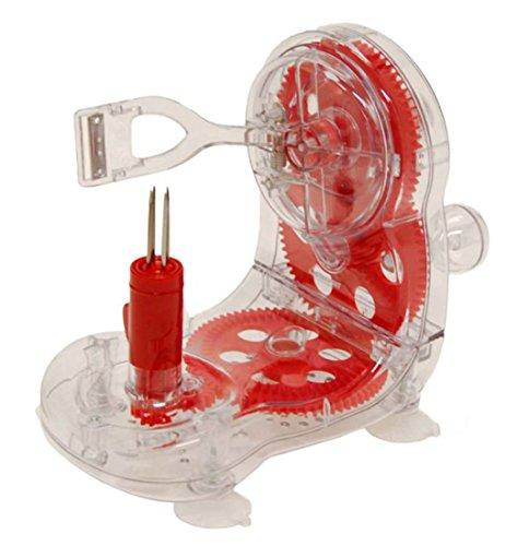 Starfrit 092999 006 RED1 Apple Peeler Red