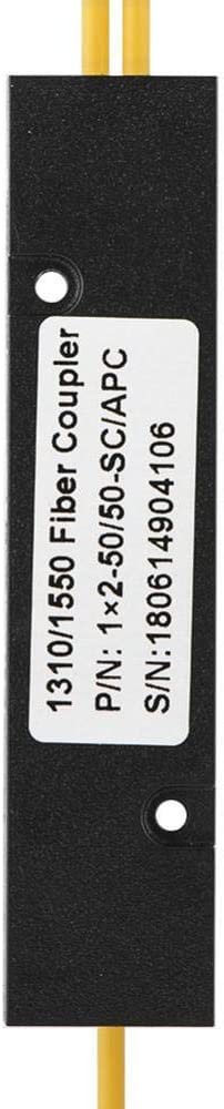 SCAPC 1X2 PLC Divisor /óptico de Fibra monomodo Divisor SC//UPC PCL Jadeshay Divisor /óptico