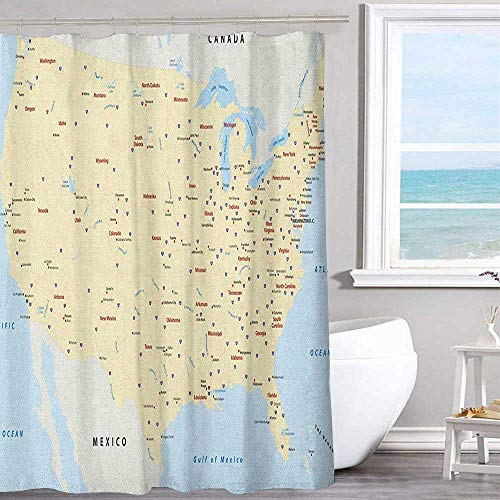 (MKOK Home Shower Curtain 70