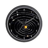 CafePress - Solar System Wall Clock - Unique Decorative 10'' Wall Clock