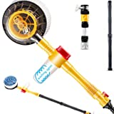 Ting Ao Automotive Spiffy Extendable Pole Revolving Care Washing Brush Sponge Cleaning