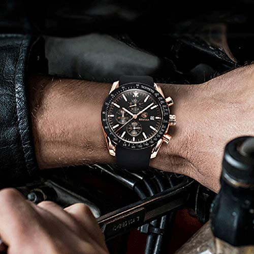 Amazon.com: Mens Watch WoCoo Business Full Steel Quartz Top Brand Luxury Casual Waterproof Sport Male Wristwatch Relogio Masculino(A): Clothing