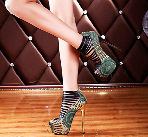 Pumps Show Dress Prom Blue Shoes Heels Sandals Littleboutique Platforms Club Magazine Pumps Strap Nigh Fashion Stiletto qwTWgnzE