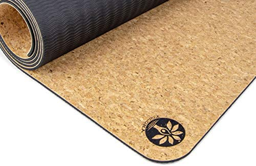 Yoloha Cork Yoga Mat Nomad Cork Travel Yoga Mat