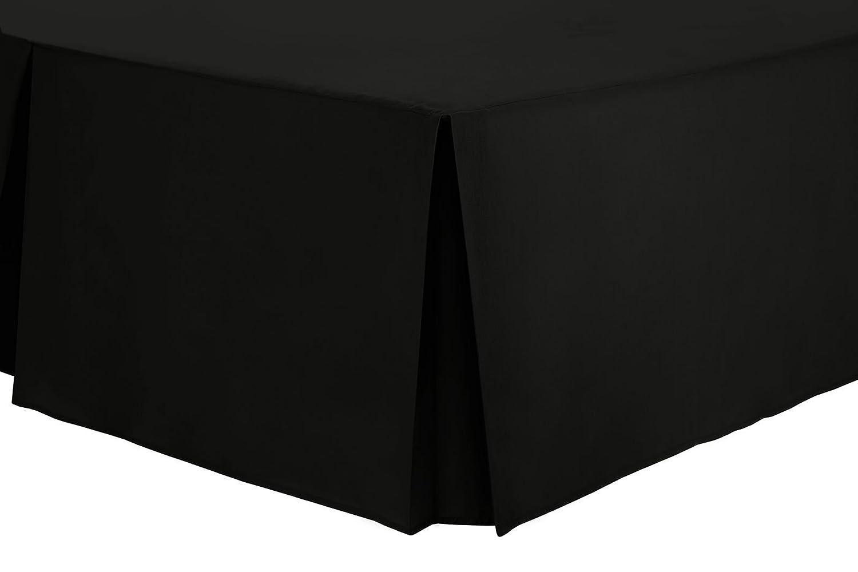 Beige Single Base Valance Sheet Box Pleated (3' x 6'3