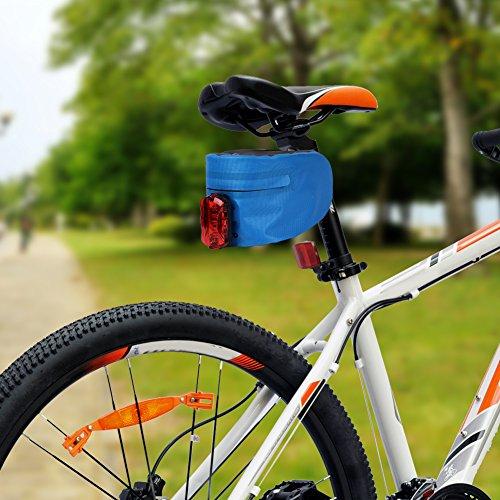 ACRATO Fahrradsatteltasche Satteltasche Bike Bag Wasserdichte Fahrradtasche Werkzeugtasche Bike Sattel Tasche Klein