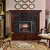 PuraFlame 23 Inches Western Electric Fireplace