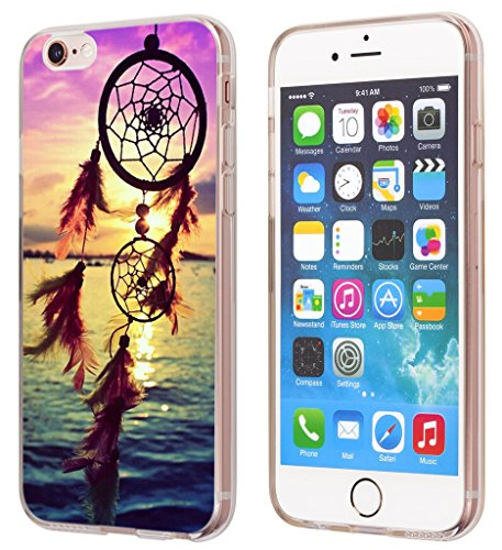 Iphone 6S Plus Case Dreamcatcher, Apple Iphone 6 Plus & 6S Plus Cover Sea Day With Accompanying Dreamcatcher