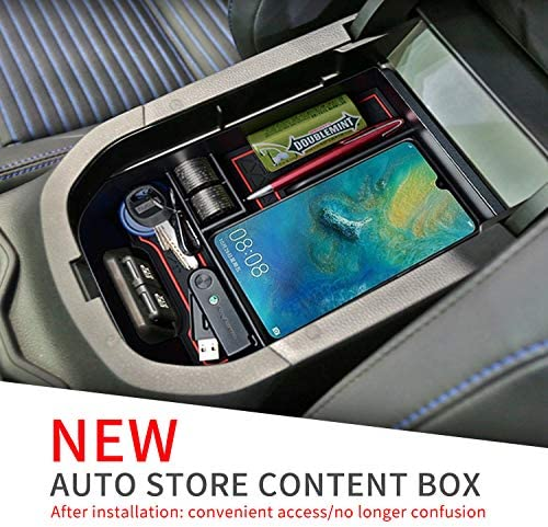 SMABEE Car Central armrest Box for Toyota RAV4 2019 2020 RAV 4 Interior Accessories Stowing Tidying Center Console Organizer