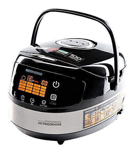 Redmond RMK-m911e (inglese) 5L con padella per friggere Multicooker tutto elettrico multiuso da cucina [Classe di efficienza energetica A] RMK M911E