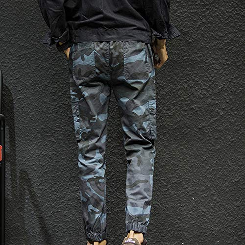 Wide Trousers Fashion Camouflage Points Small Safety