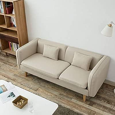 LEPAK Sofá esquinero, sofá de 2 plazas, sofá reclinable ...