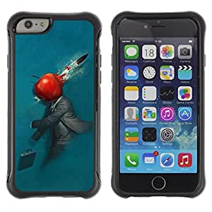 Hybrid Anti-Shock Defend Case for Apple iPhone 5C Inch / Abstract Apple