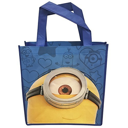 Minions Reusable Tote Bags for Kids, Teens, and Adults! (Minion Peeking)]()