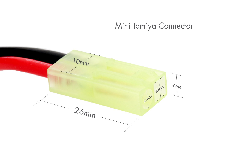 9.6V 2000mAh Nunchuck NiMH Battery Pack w/ Mini Tamiya Connector