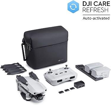 DJI Mavic Air 2 Fly More Combo DJI Care Bundle 34 min di Volo con Servizio DJI Care Attivato Automaticamente Drone Quadcopter con Telecamera 48MP 4K Video Stabilizzatore 3 Assi Grigio