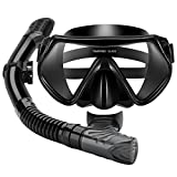 Mpow Snorkel Mask, Scuba Diving Mask for Snorkeling Diving Swimming, Easy Breath Scuba