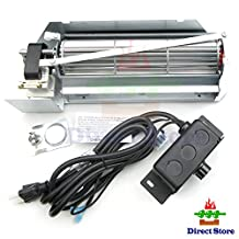 Direct store Parts Kit DN109 FBK-250 Replacement Fireplace Blower Fan KIT for Lennox, Superior, Rotom HB-RB250