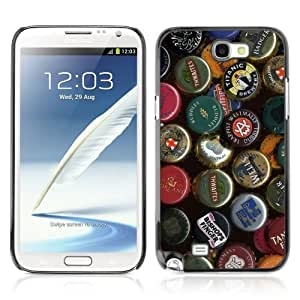YOYOSHOP [Beer Cap Collection] Samsung Galaxy Note 2 Case WANGJING JINDA