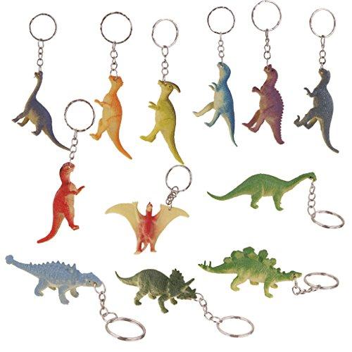 Jili Online Pack Plastic Animal Figure Charm Keyring ...