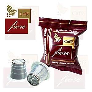 2000 Capsule Caffè fiore Espresso Bar miscela Intensa e Cremosa compatibili cialde caffè Nespresso