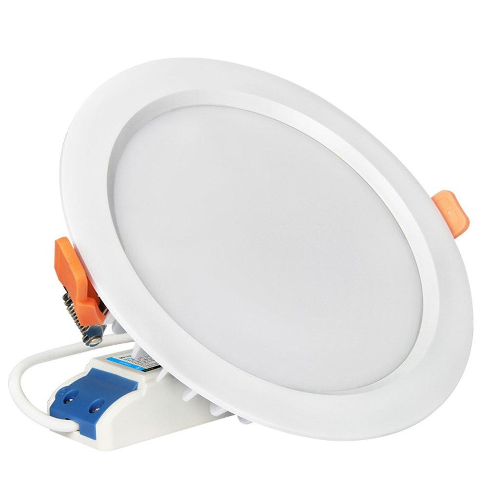 Mi.Light 15W RGB CCT LED Recessed Ceiling Downlight AC 85-265V IP54 Must Work with Milight RGB+CCT Remote,B4/T4 Panel Or Smartphone APP Control Via Mi-Light WiFi Bridge Hub iBox1 and iBox2 by LGIDTECH (Image #1)