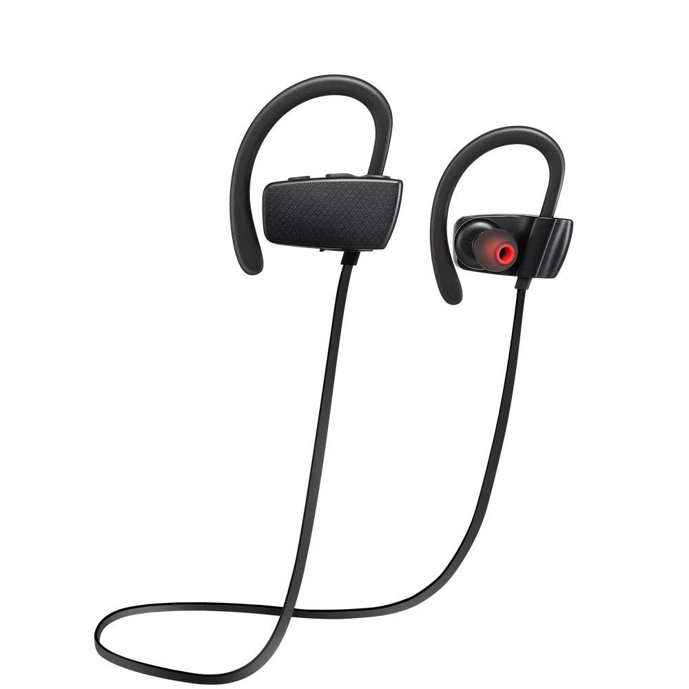 Wireless Headphone Waterproof Touch Bluetooth Earbud Stereo Noise Canceling in-Ear Earphone Smart Headset Fully Compatible with Mobile Phone for Sport,Working,Running,Gym,TV,Ship from US Warehouse