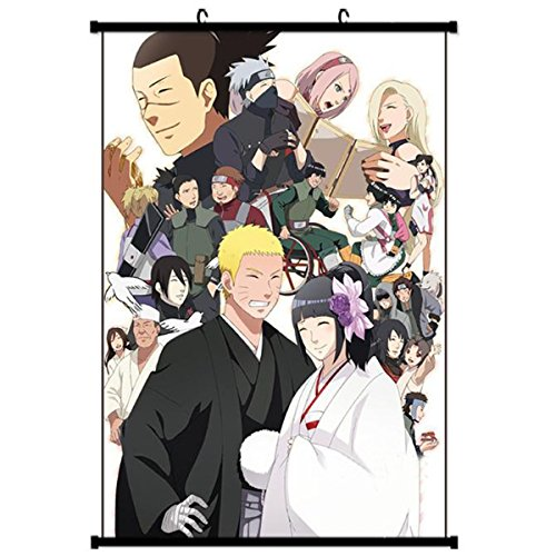 Onecos Anime Boruto Naruto Poster Fabric Scroll Painting Wall Picture