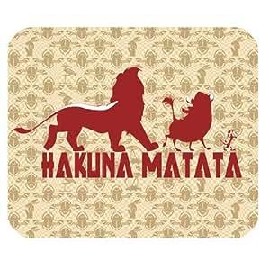 Custom Hakuna Matata Personalized Rectangle Mousepad SBY-811