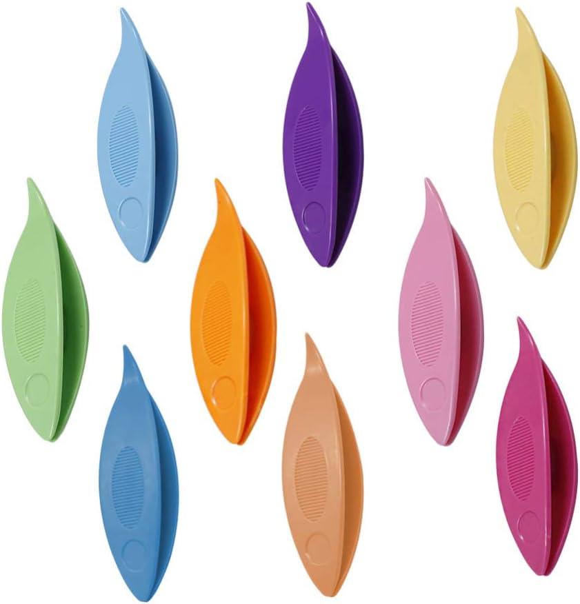 Healifty 5 piezas de lanzaderas de encaje herramientas de fabricaci/ón de bricolaje artesanal hecha a mano de ganchillo tejido de encaje haciendo arte lanzadera accesorios de bobina larga